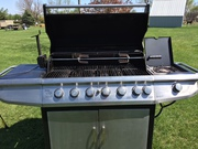 Heavy Duty 36 inches Gas Grill